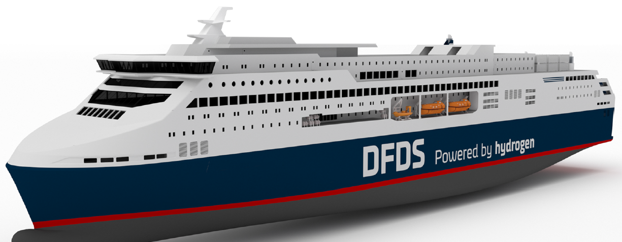 Hydrogen ship