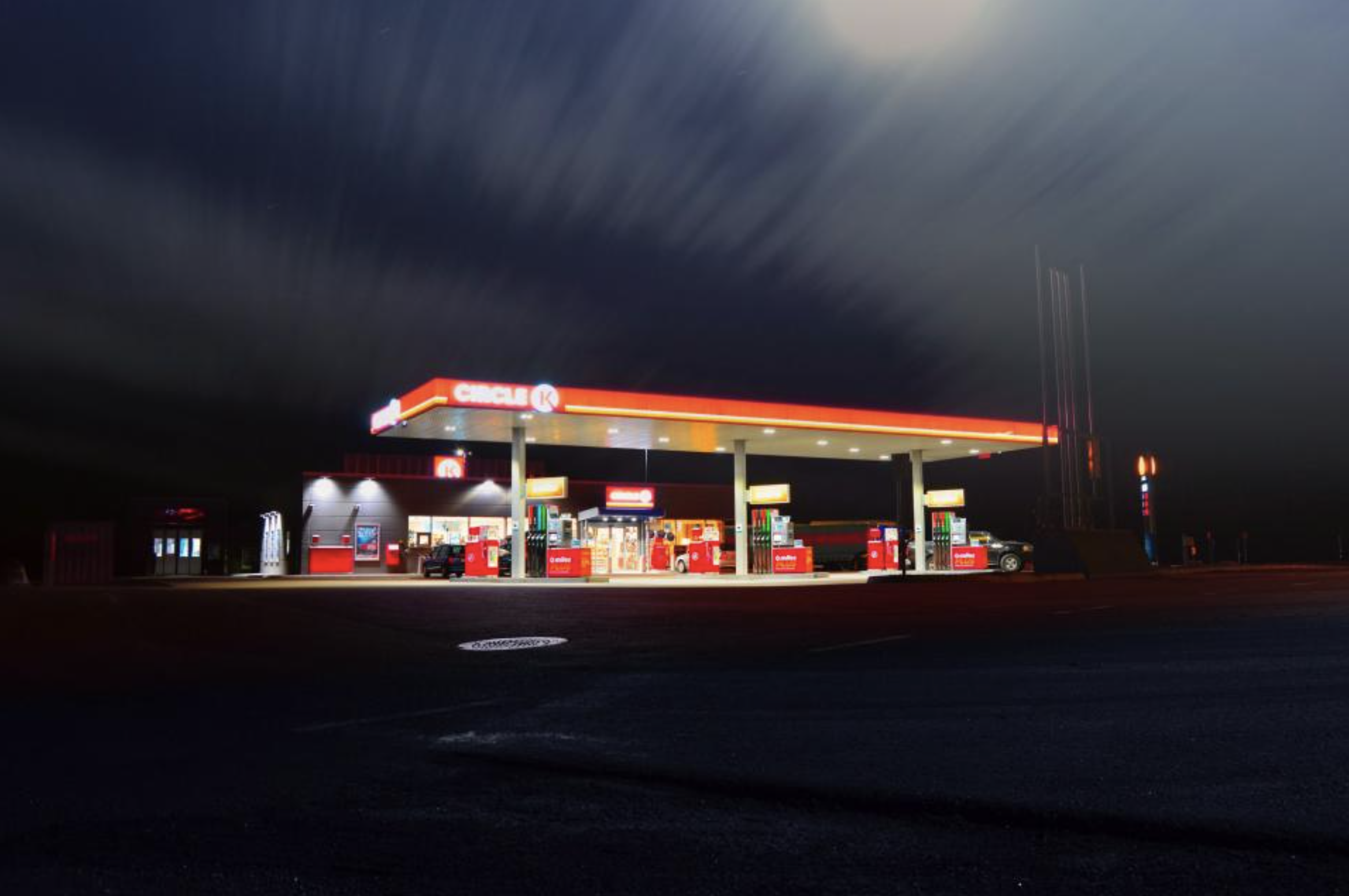 Refueling station biofuels and climate plan