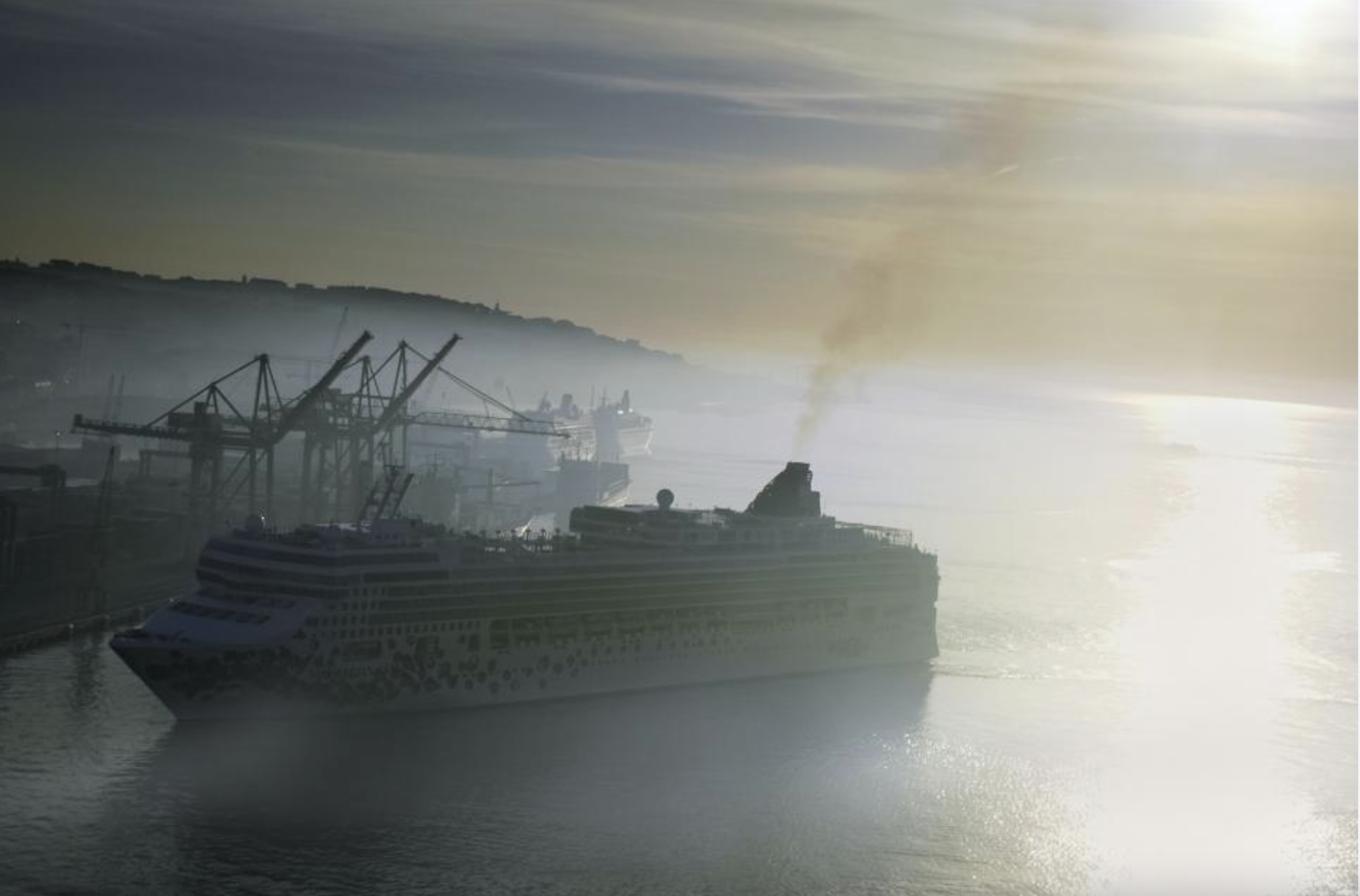 Shipping emissions and climate plan