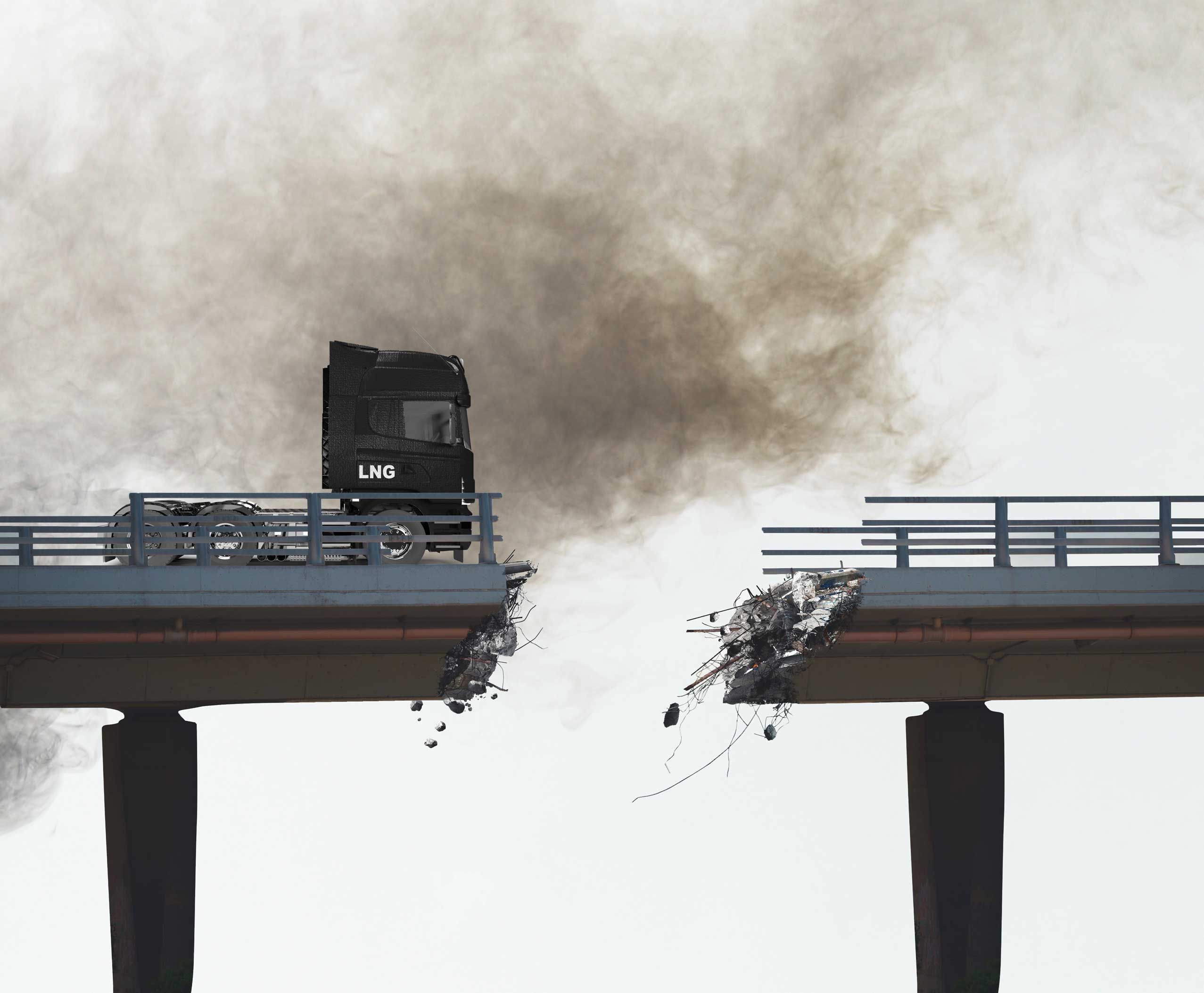 LNG trucks are not a viable solution to reduce emissions
